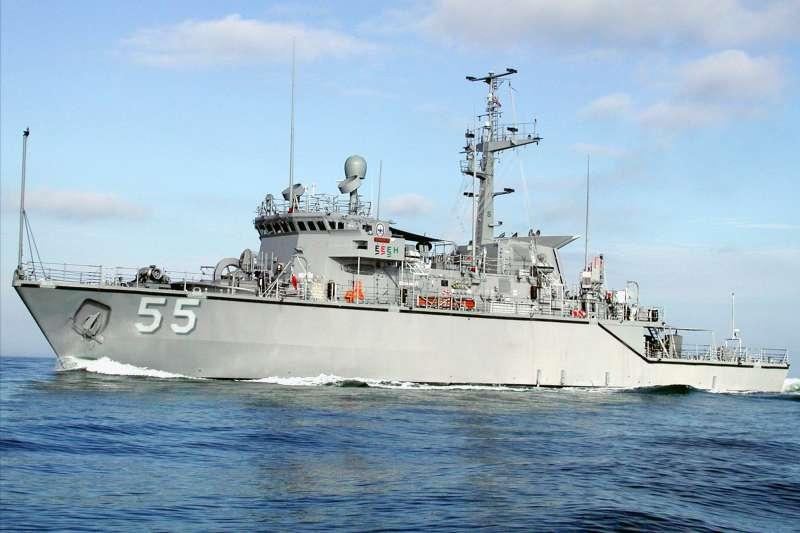 美軍賣給台灣的二手「鶚級」獵雷艦(Wikipedia / Public Domain)