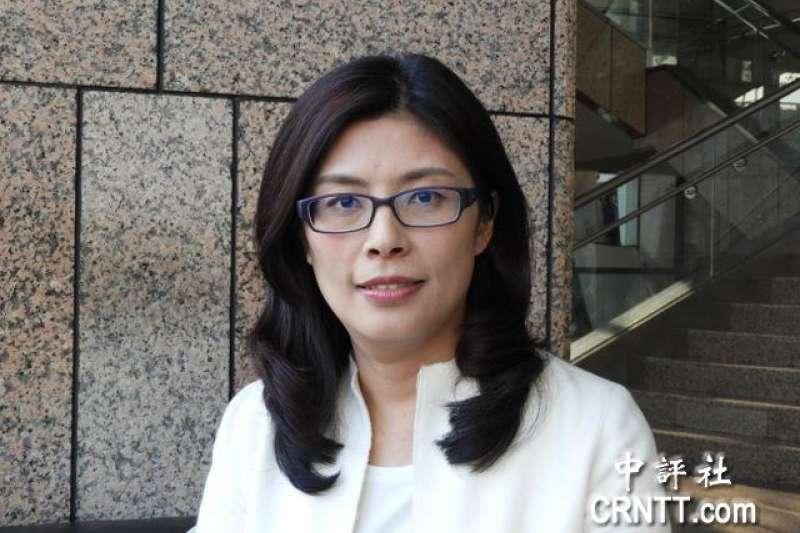 行政院前發言人鄭麗文向媒體證實,有意參選台北市長。(資料照,取自中評社)