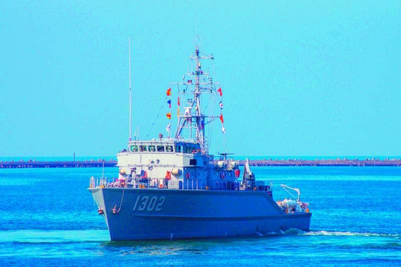 1302永嘉艦等四艘永豐級獵雷艦當年是祕密向德國採購。