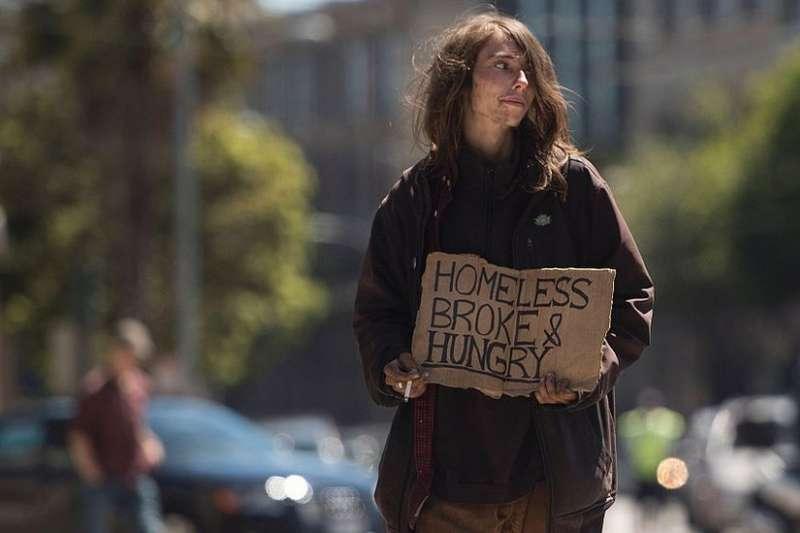 超級大國美國貧富不均。(BBC中文網)