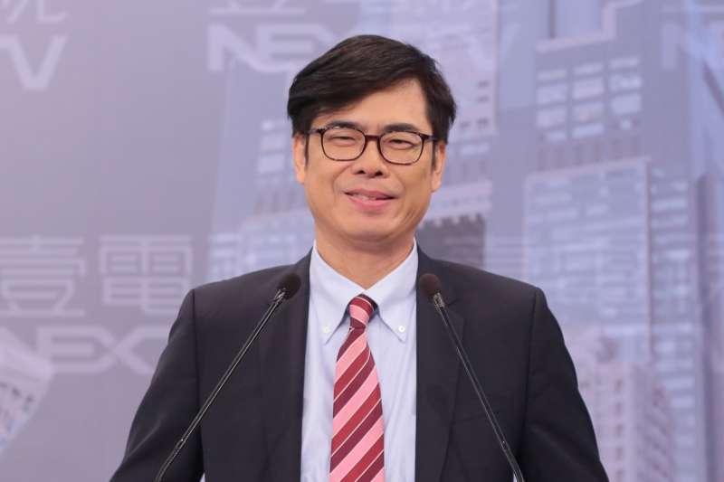 暗諷韓國瑜?陳其邁自豪「接地氣」:每天超時工作,從來不會睡到中午才上班-風傳媒