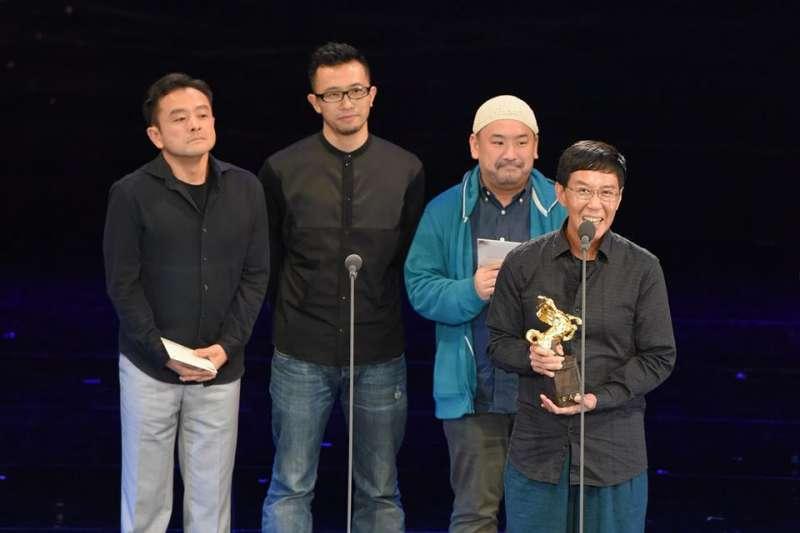 《大佛普拉斯》是去年國片熱門,也是第54屆金馬獎大贏家。圖為林生祥拿下最佳原創電影音樂獎。(資料照,取自金馬影展 TGHFF臉書)