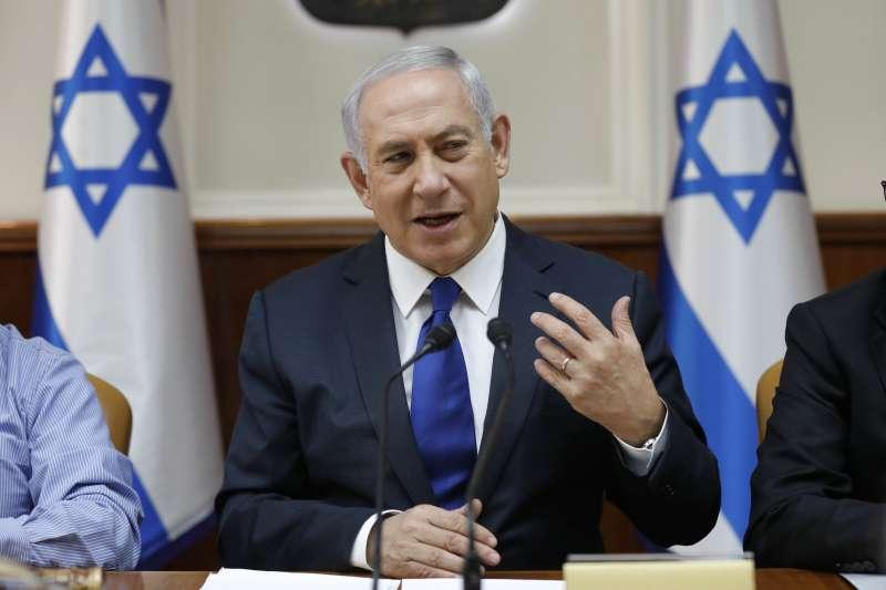 以色列總理兼外長納坦雅胡(AP)