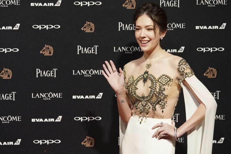 演員許瑋甯在IG對寫「阿六仔」的貼文按讚,引發中國網友不滿並質疑她是台獨。(資料照,美聯社)