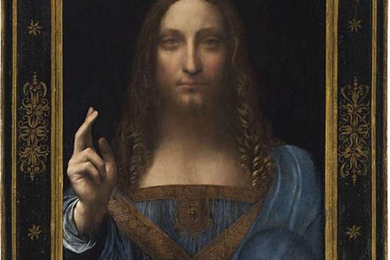 這幅達文西的《救世主》,帶給觀眾的情緒互動變化不定,類似觀看《蒙娜麗莎》的感受。(資料照,圖/取自Wikipedia)
