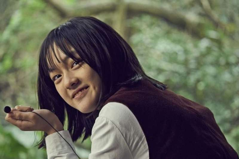 文淇從小就肩負過許多角色,不斷磨練演技,今年得以14歲的稚齡入圍金馬獎。(圖/遠見雜誌提供)