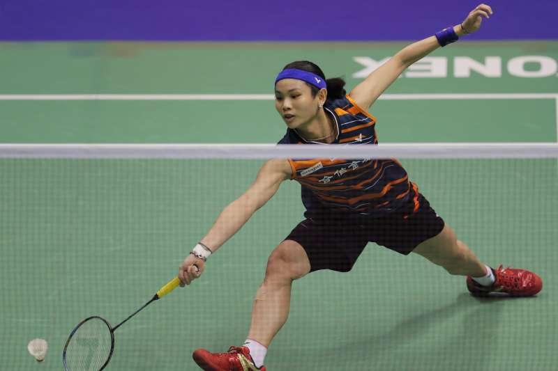 2017年11月26日,世界球后戴資穎在香港公開賽女單擊敗印度女將辛度(Pusarla Sindhu),衛冕冠軍寶座(AP)