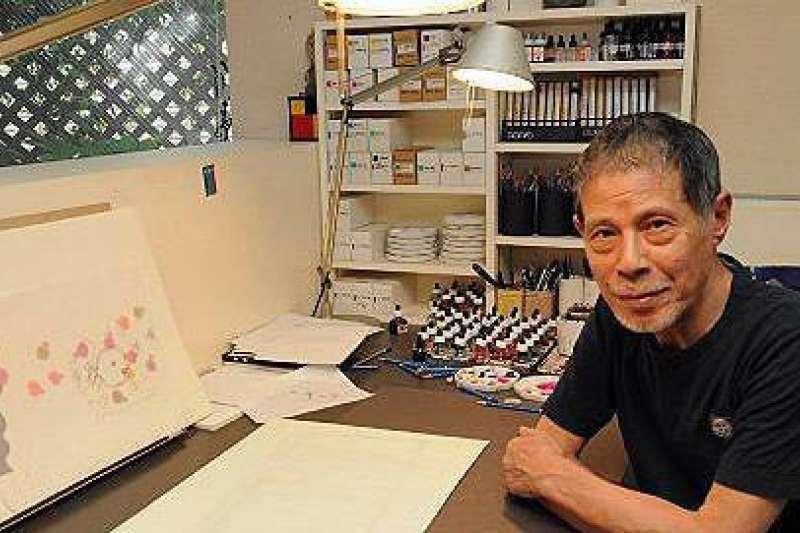 享譽國際的日本繪本大師五味太郎,對於兒童教育有很多看法,回答起家長的疑問一針見血,犀利又直白。(圖/澎湃新聞提供)