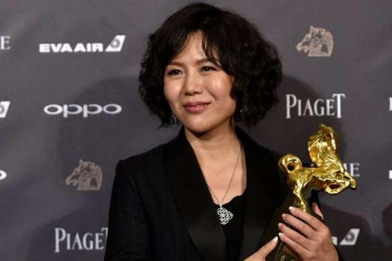 身兼獨立導演、編劇、製片人多重身分的文晏。(BBC中文網)