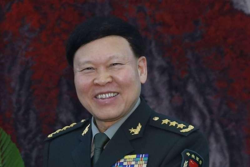 中國人民解放軍上將張陽(中新社)