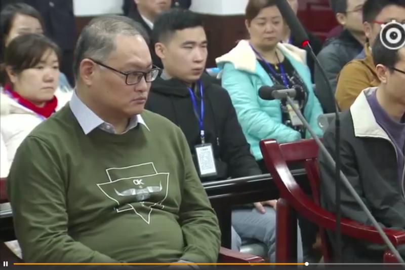 台灣NGO工作者、前民主進步黨黨工李明哲(左)遭中國以「顛覆國家政權罪」逮捕、起訴,岳陽市中級人民法院28日宣判,李明哲被以「顛覆國家政權罪」罪名判刑5年,剝奪政治權利2年。(微博)
