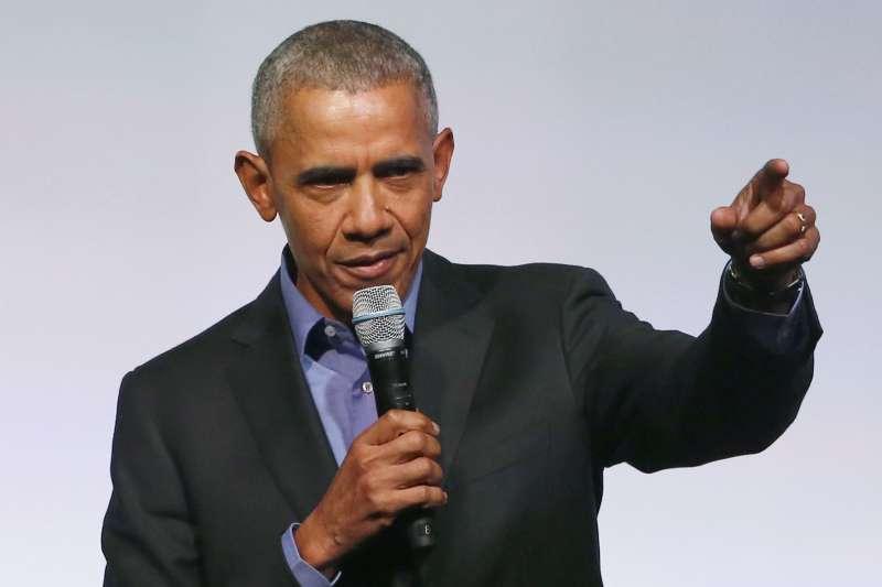 美國前總統歐巴馬。(AP)
