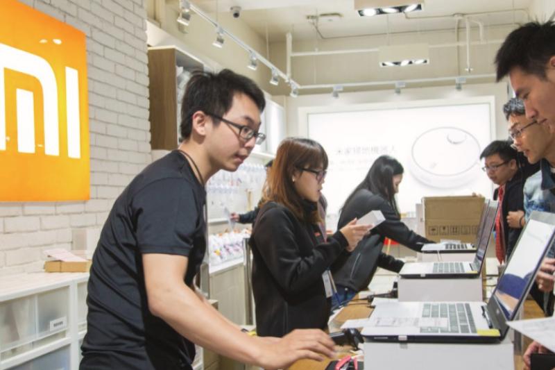 目前在台灣有兩家分店,小米野心不小,計畫明年底前展店至十家。(圖/吳晴中攝,數位時代提供)