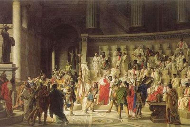 在公元前5世紀的希臘社會的管治階層中,相對平等和民主,男性公民極重視平等和民主,溝通時就不會那麼「客氣」。(圖 / Outside提供)