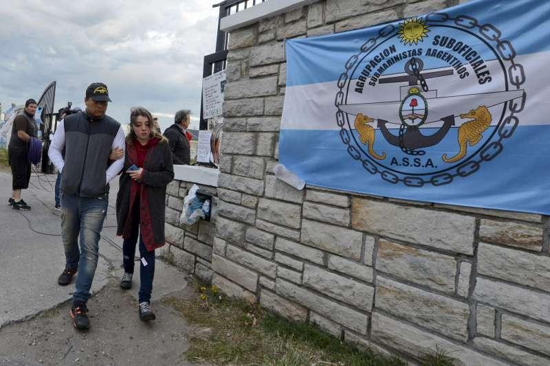 阿根廷海軍30日宣布,載有44的聖胡安號上「不可能有人生還」,正式終止搜救任務。(AP)