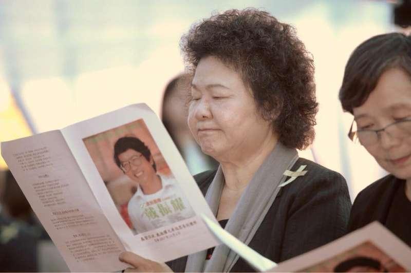 高雄市長陳菊表示,這是13年前的往事,出書只是因為市長任期將屆,紀錄這4000多天的日子,要對生命歷程有交待。(資料照,陳菊臉書)