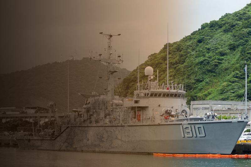 獵雷艦在交艦時程延宕後,未來造出的6艘獵雷艦恐成「全新的舊型獵雷艦」,恐將無法因應新的敵情威脅。圖為永靖級獵雷艦。(資料照,取自維基百科/影像合成:風傳媒)