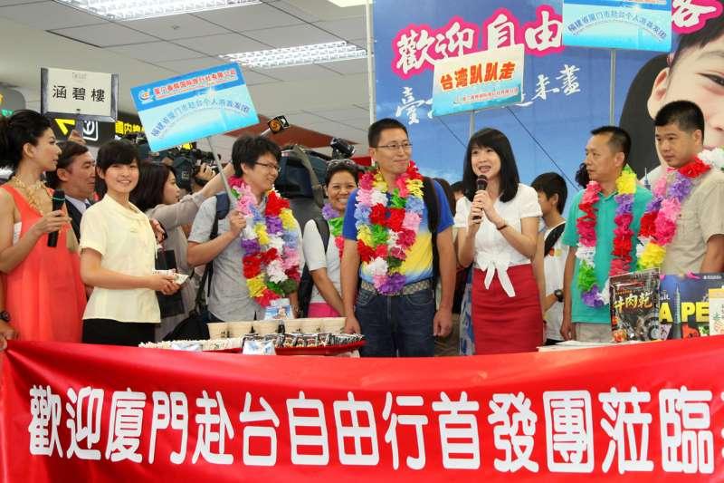 對岸暫停自由行,下一步可能就是縮減團客,台灣觀光業與經濟都會受影響。(資料照片,台北市政府提供)