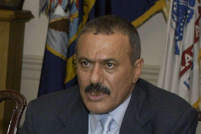 葉門前總統薩利赫。(維基百科公有領域)