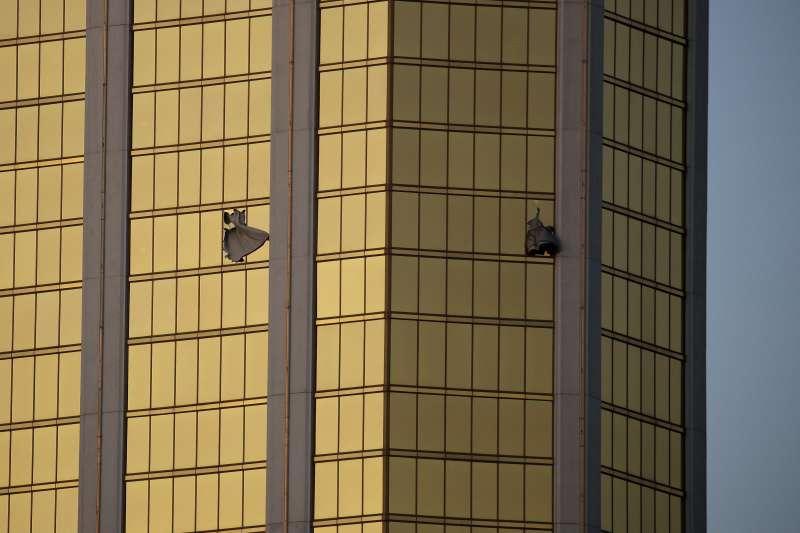 2017國際新聞回顧:拉斯維加斯槍擊案。(美聯社)
