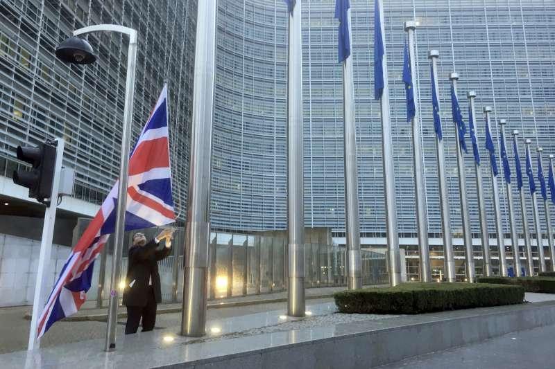 英國與歐盟未簽訂協議,真會有跳崖式後果嗎?(美聯社)