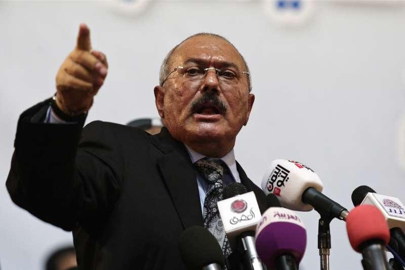 葉門前總統薩利赫(Ali Abdullah Saleh)(AP)