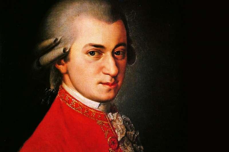 偉大作曲家莫札特(Wikipedia / Public Domain)