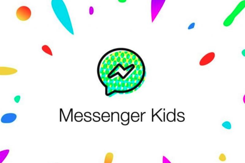 Facebook推出專為6-12歲孩童打造的聊天工具Messenger Kids,孩子的帳號附屬在家長下,讓父母有權篩選孩子的聯絡人。(圖/Facebook提供)
