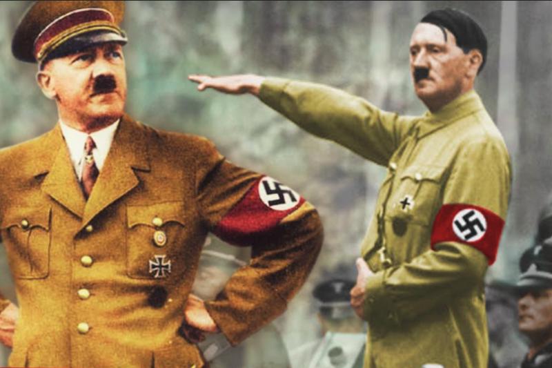 上世紀最惡名昭彰的獨裁者希特勒,最後與情婦在柏林一處地下室自殺,當時William Vandivert是第一位獲准入內的攝影師,用這些照片紀錄下獨裁者的葬身之地。(圖/ Canal Nostalgia@youtube)