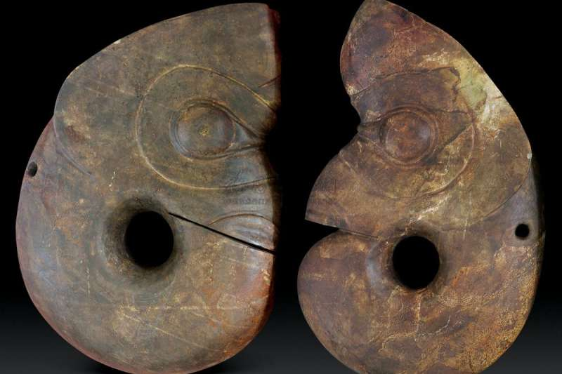 紅山文化的玉豬龍。(取自網路)