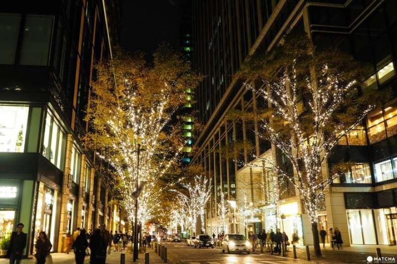 東京車站周邊的丸之內、大手町等特色景點,帶給你不一樣的浪漫體驗。(圖/MATCHA提供)