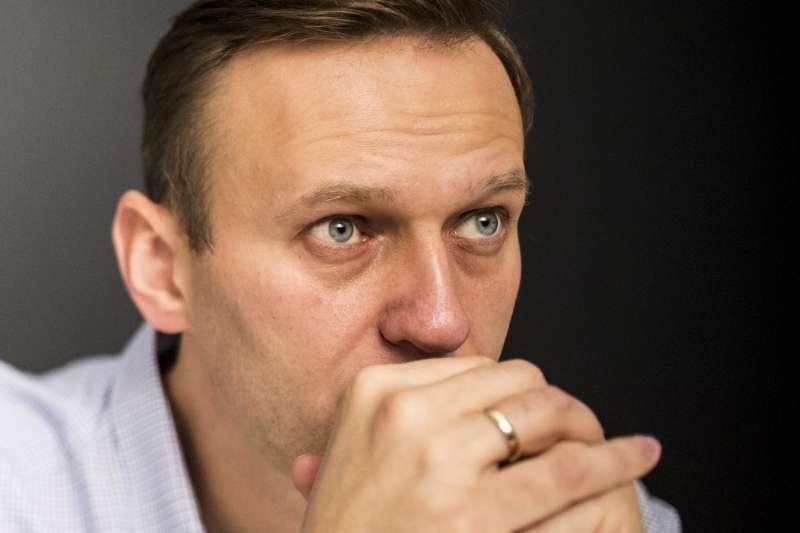 俄羅斯反對派領袖、反貪腐行動發起人納瓦尼(Aliei Navalny)屢次遭到警方逮捕。(美聯社)