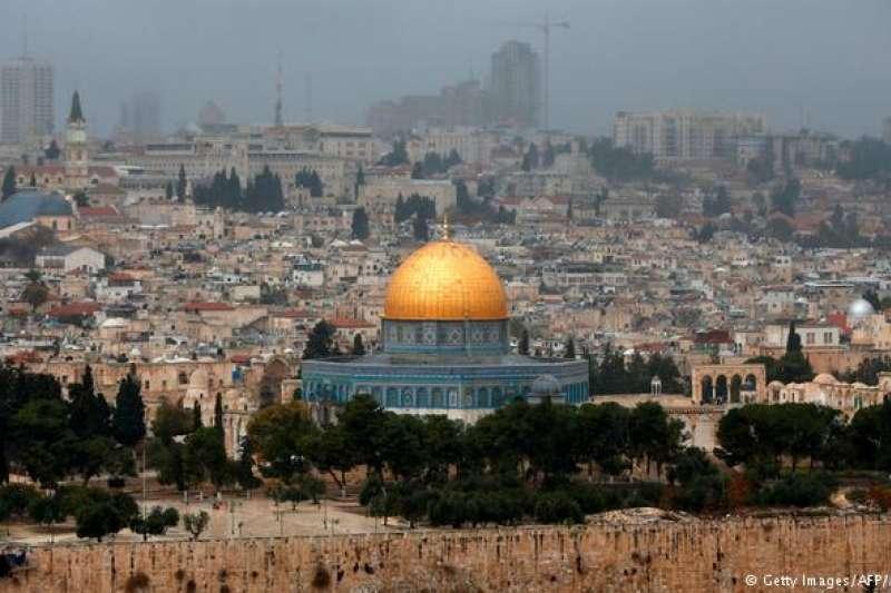 中東衝突中,耶路撒冷的地位是各方爭議的焦點。(德國之聲)