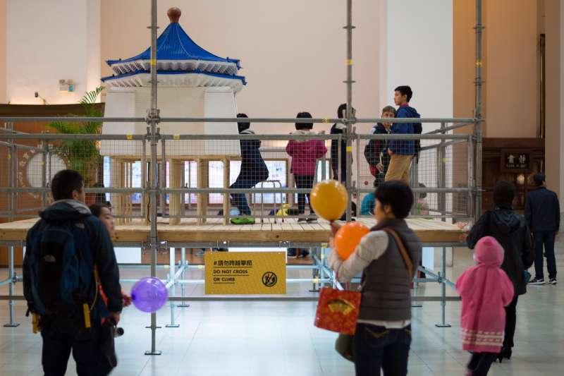 「後解嚴:想像紀念堂」展覽12月9日於文化部中正紀念堂中央通廊展出(文化部)