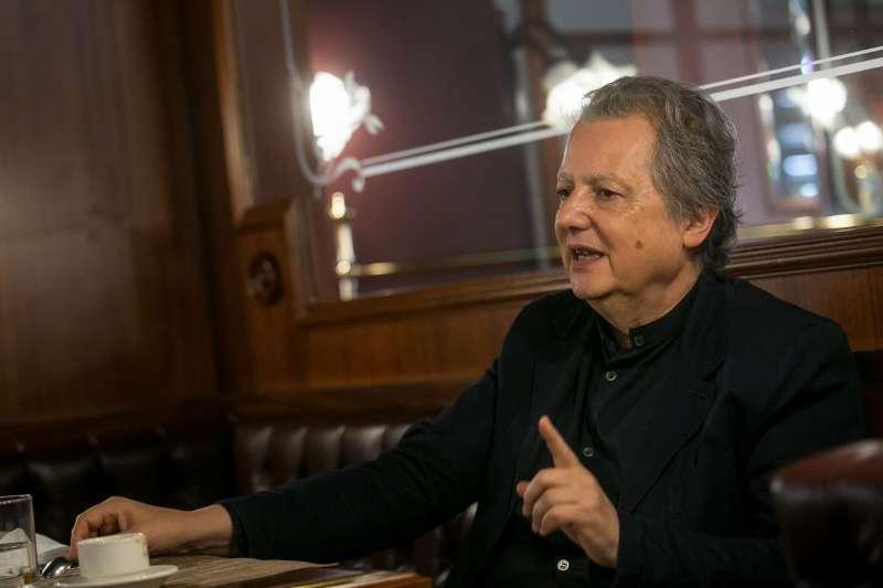 20171209-無國界記者組織法國總部主席Pierre Haski(韓石)專訪。(顏麟宇攝)