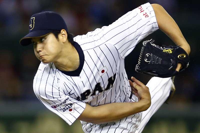 MLB官網報導,日職投打兼具的二刀流大谷翔平,決定效力洛杉磯天使隊。(AP)