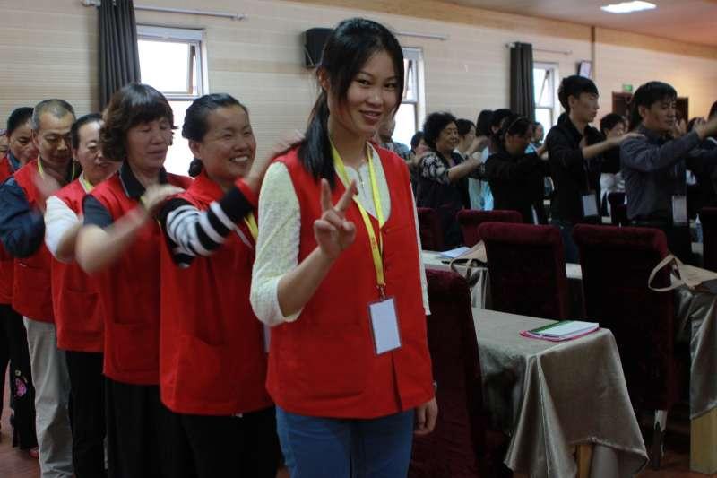 中國社會近來出現光怪陸離的「女德班」(取自網路)