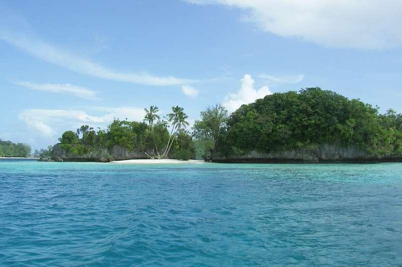 帛琉的洛克群島擁有「水中花園」的雅稱,除了是帛琉當地最引以為傲的地標,更被譽為世界七大海底景觀之首。(圖取自Peter R. Binter@Wikipedia / Public Domain)