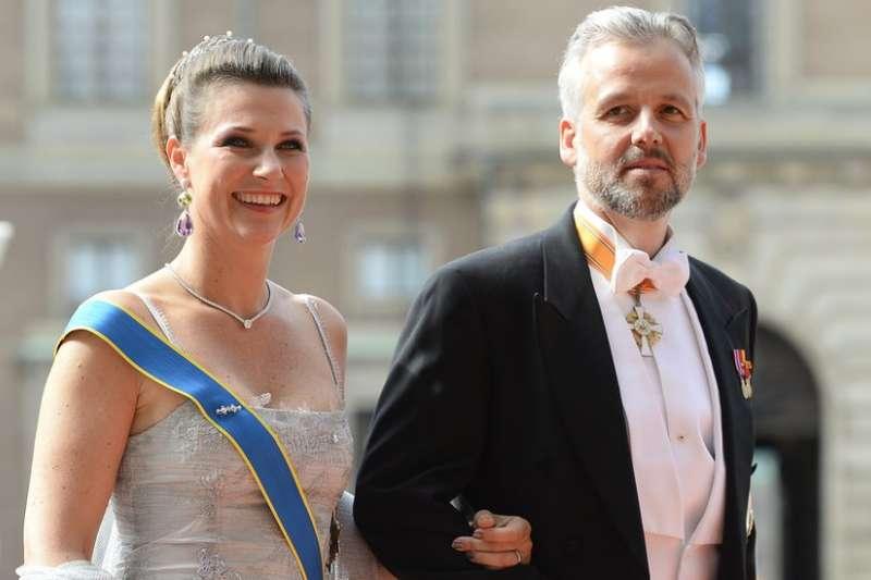 挪威國王前女婿阿里‧貝恩(右)指控曾遭凱文史貝西性騷擾。(BBC中文網)