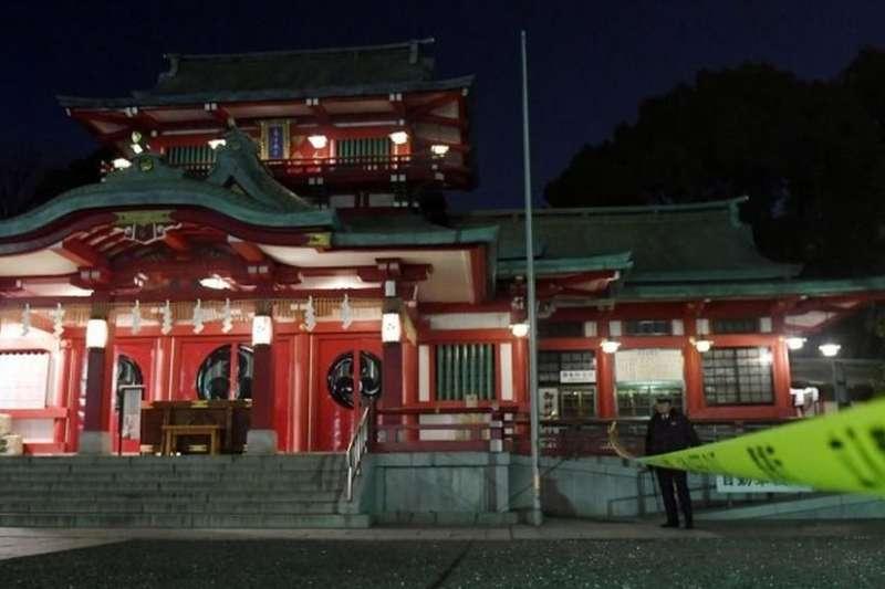 東京神社「富岡八幡宮」爆繼承糾紛 弟弟持武士刀砍死姐姐。(BBC中文網)
