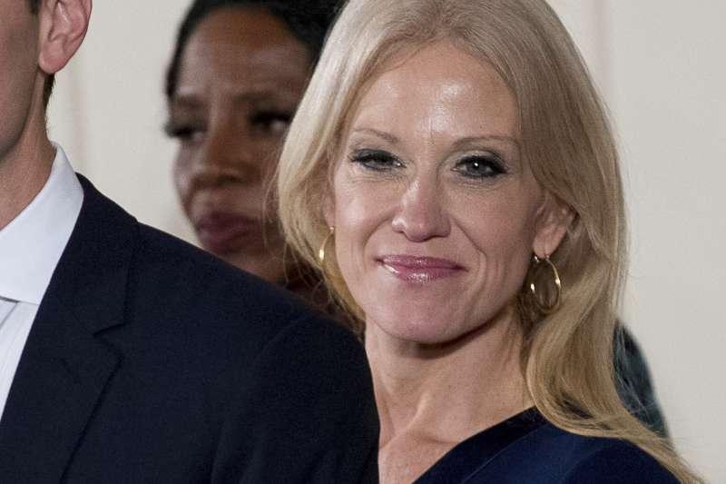 美國白宮顧問康威對女性主義有不同解釋(AP)