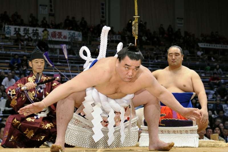 日本第70代橫綱日馬富士。(美聯社)