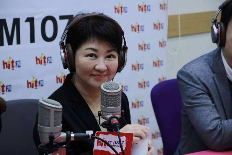 20171213- 國民黨立委盧秀燕13日早接受《蔻蔻早餐》專訪。(蔻蔻早餐提供)