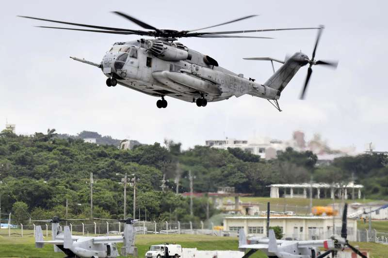 美軍的CH-53直升機(美聯社)