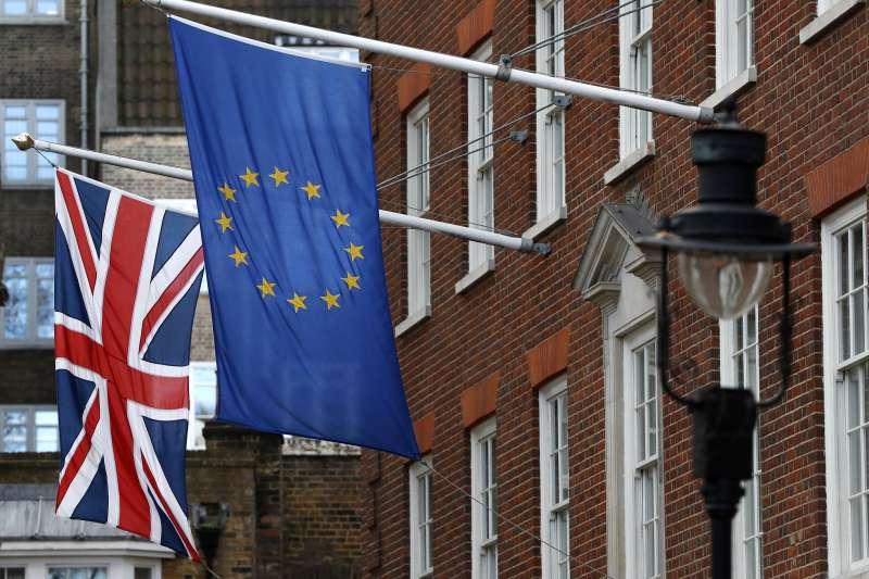 在二○一六年六月,脫歐在英國的脫歐公投中獲得過半數支持,這個結果不只震驚英國,也帶給全球強烈衝擊。(資料照,AP)