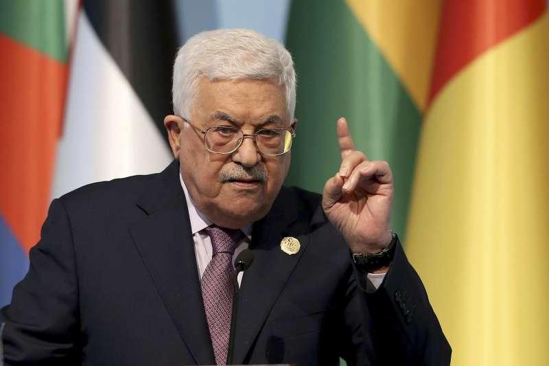 巴勒斯坦自治政府主席阿巴斯(AP)