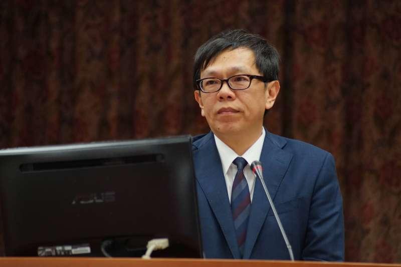 20171214-總統府副祕書長姚人多出席司法法制委員會質詢。(盧逸峰攝)