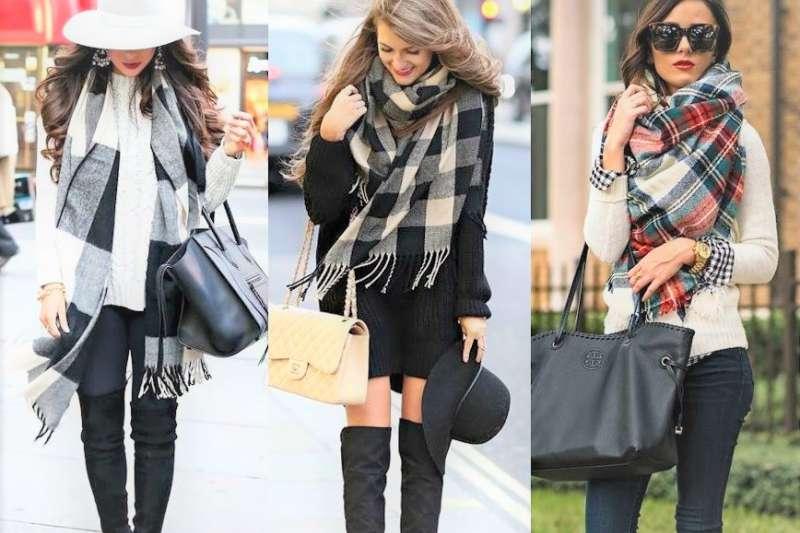 又有一波冷氣團報到!要出門的民眾可以試著在圍巾上花一些小巧思、更有型!(圖/ Fashion Trend Seeker@youtube)