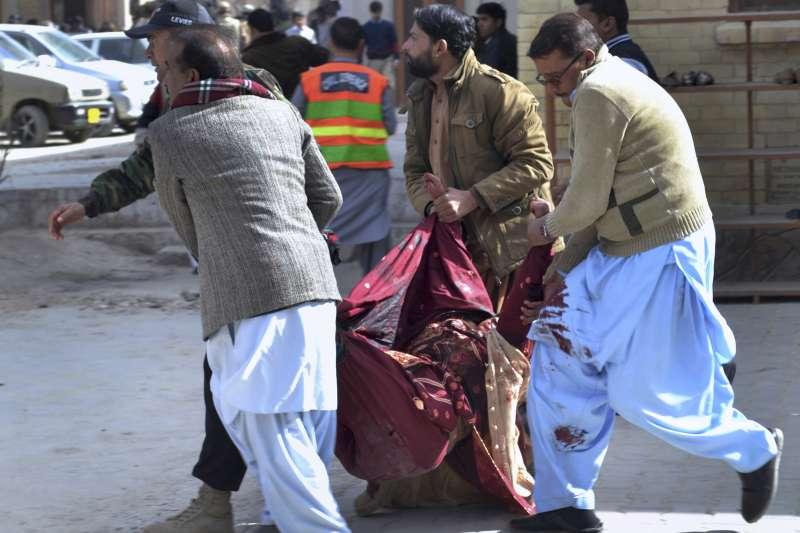 巴基斯坦奎達市1間教堂遭炸彈攻擊,造成5死16傷慘劇(AP)