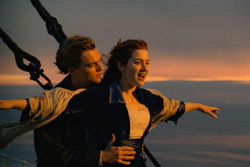 經典災難愛情片《鐵達尼號》上映20周年(AP)